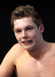 Duncan Scott after winning the Men's Open 100m Freestyle Final during day three of the 2017 British Swimming Championships at Ponds Forge, Sheffield.
