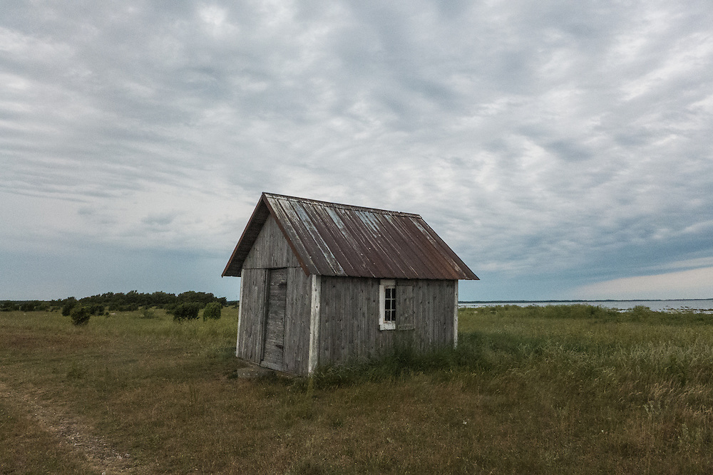 Vid Grunnet i Fide på Storsudret, Gotland.