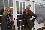 FRANCIE CLARKSON; REBEKAH BROOKS, Heythrop Point to Point. At a  new course at Cocklebarrow near Aldsworth. 11 January 2014