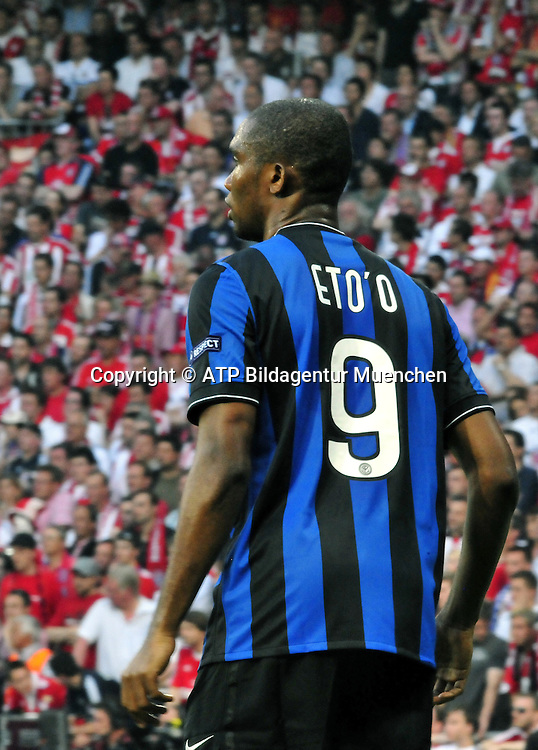 Madrid 22.05.2010 - Samuel ETO'o - Fussball Spiel - INTER Mailand gegen FcBayern - Football Match Champions League Final - Inter MILAN vs Fc BAYERN - FC. Internationzionale MILANO - <br />
