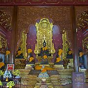 Wihan at Wat Chedi Ngam in Fang, Chiang Rai, Thailand.