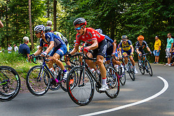 Ivan Balykin (RUS,RVL) in the peloton during the Arnhem - Veenendaal Classic at Posbank, Rheden, Gelderland, The Netherlands, 21 August 2015.<br /> Photo: Thomas van Bracht / PelotonPhotos.com