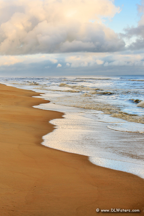 Nags Head beach on the Outer Banks.