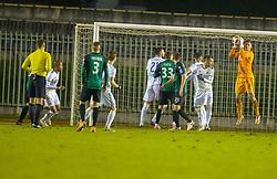 during football match between NK Rudar and NK Maribor in Round #19 of Prva Liga Telekom Slovenije 2018/19, on December 7, 2018 in Velenje, Slovenia. Photo by Jurij Vodusek / Sportida