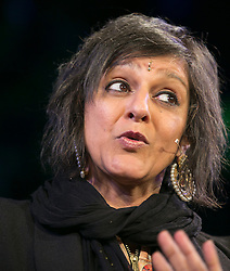 © Licensed to London News Pictures. 30/05/2015. City, UK. Meera Syal at the Hay Festival : Tracey Paddison/LNP