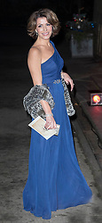 Natasha Kaplinski arrives for a 3D screening of Alive at the Natural HIstory Museum. Natural History Museum, London, United Kingdom. Wednesday, 11th December 2013. Picture by i-Images
