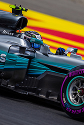 July 8, 2017 - Spielberg, Austria - Valtteri Bottas of Finland and AMG Mercedes driver during the qualification session on Austrian F1 GP at Red Bull Ring  on July 08, 2017 in Speilberg, Austria. (Credit Image: © Robert Szaniszlo/NurPhoto via ZUMA Press)
