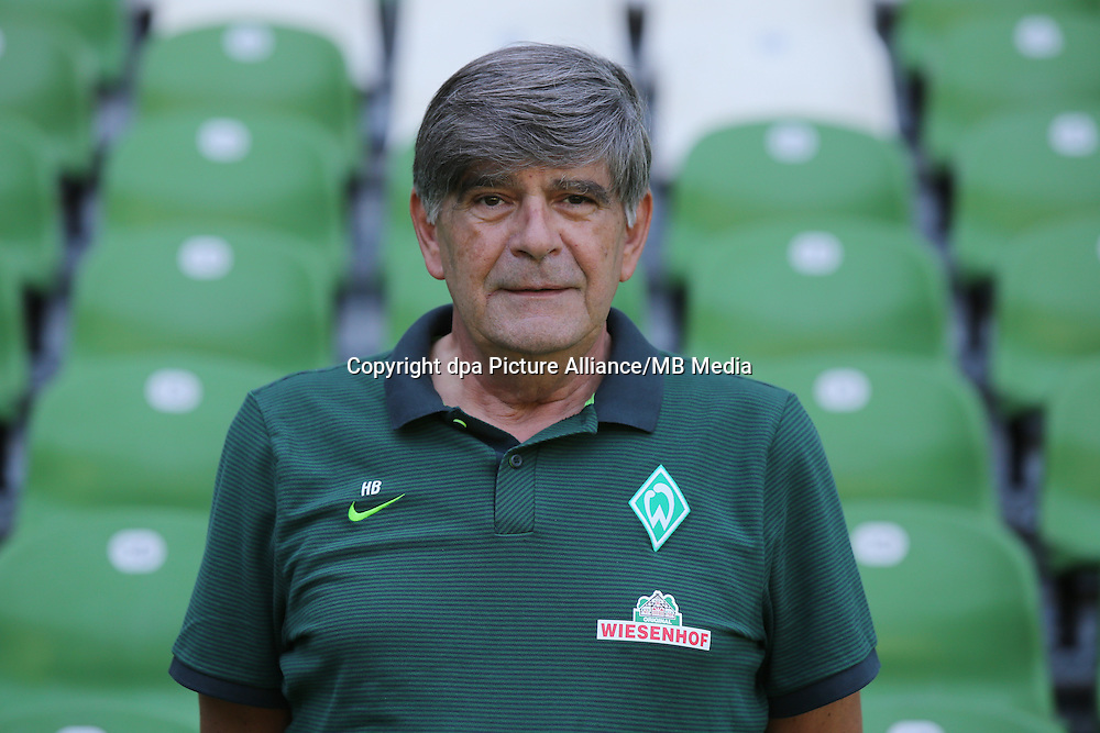 German Bundesliga - Season 2016/17 - Photocall Werder Bremen on 20 July 2016 in Bremen, Germany: Physiotherapist Holger Berger. Photo: Focke Strangmann/dpa | usage worldwide