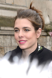 Charlotte Casiraghi attending the Giambattista Valli show during Paris Fashion Week Ready to wear FallWinter 2017-18 on March 06, 2017 at the Grand Hotel in Paris, France. Photo by Aurore Marechal/ABACAPRESS.COM