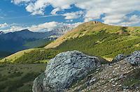 View from Tekarra basin, Skyline Trail,  Jasper National Park Alberta Canada