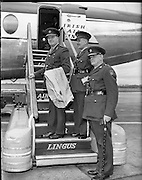 The Chief of Staff leaves for the Congo..30.11.1960