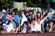 SYDNEY - NOVEMBER 25: Indian fans at the International Gillette T20 cricket match between Australia and India at The Sydney Cricket Ground in NSW on November 25, 2018. (Photo by Speed Media/Icon Sportswire)