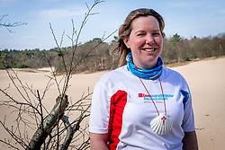 18-03-2018 NED: We hike to change diabetes, Soest<br /> Training voor de Camino 2018 op de Soesterduinen / Wanda