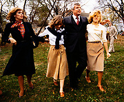 Phyllis George and Kentucky Governor John Y Brown with their children. Phyllis Ann George was an American businesswoman, actress, and sportscaster. She was also Miss Texas 1970, Miss America 1971, and the First Lady of Kentucky from 1979 to 1983. Ms. George died, aged 70, of complications from Polycythemia vera on May 14, 2020 in Lexington, Kentucky.