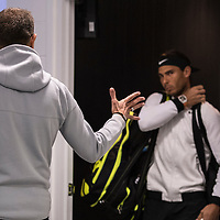 Rafael Nadal of Spain on day eight of the 2017 Australian Open at Melbourne Park on January 23, 2017 in Melbourne, Australia.<br /> (Ben Solomon/Tennis Australia)