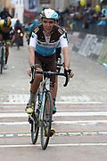 Romain Bardet during the UCI World Tour, Tirreno-Adriatico 2018, Stage 5, Castelraimondo to Filottrano, in Italy, on March 11, 2018 - Photo Laurent Lairys / ProSportsImages / DPPI