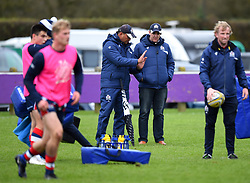 Bristol head coach Pat Lam and academy manager Mike Hall - Mandatory by-line: Paul Knight/JMP - 18/11/2017 - RUGBY - Clifton RFC - Bristol, England - Bristol United v Gloucester United - Aviva A League