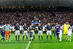 Referees before football match between NK Maribor and Sporting Lisbon (POR) in Group G of Group Stage of UEFA Champions League 2014/15, on September 17, 2014 in Stadium Ljudski vrt, Maribor, Slovenia. Photo by Matic Klansek Velej  / Sportida.com