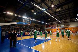 Hala Komunalnega centra during basketball match between KK Helios Suns and KK Petrol Olimpija in Playoffs of Liga Nova KBM 2017/18, on March 26, 2018 in Hala Kominalnega Centra, Domzale, Slovenia. Photo by Urban Urbanc / Sportida