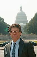 September 2003, Washington, DC, USA --- Comedian Al Franken on Capitol Hill --- Image by © Owen Franken/Corbis