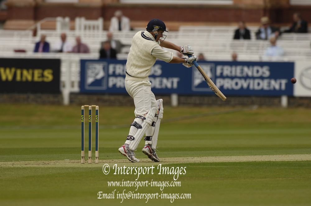 London, GREAT BRITAIN, Ed SMITH, during the first session  the Liverpool Victoria Div 2 County championship match between  Middlesex vs Northamptonshire, at Lords Cricket ground, England on Wed 25.04.2007  [Photo, Peter Spurrier/Intersport-images].....