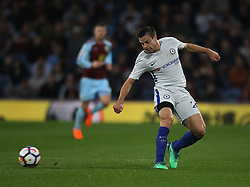 Cesar Azpilicueta of Chelsea in action - Mandatory by-line: Jack Phillips/JMP - 19/04/2018 - FOOTBALL - Turf Moor - Burnley, England - Burnley v Chelsea - English Premier League
