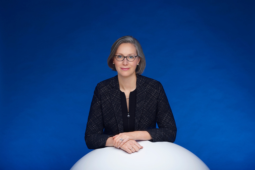 Zurich December 2017. Kristine Braden CEO of Citigroup Switzerland photographed for the Sphere magazine.