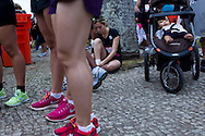 Rio de Janeiro, Brazil, July 15 of 2012:  Women participating in Circuito Venus RJ, running race just for women in the streets of downtown Rio de Janeiro.  (photo: Caio Guatelli)