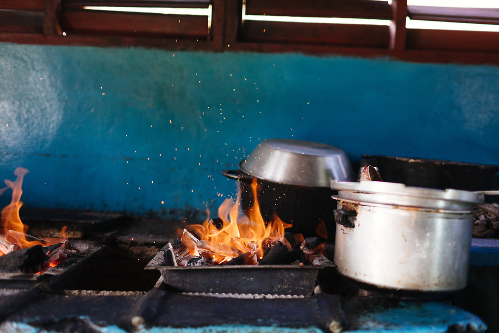 Homemade cooking in Vinales, Cuba