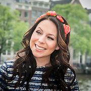 NLD/Amsterdam/20140430 - Clipopname K3 'Drums gaan boem', Kristel Verbeke