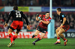 Tom Marshall of Gloucester Rugby in action- Mandatory by-line: Nizaam Jones/JMP - 22/02/2019 - RUGBY - Kingsholm - Gloucester, England- Gloucester Rugby v Saracens - Gallagher Premiership Rugby