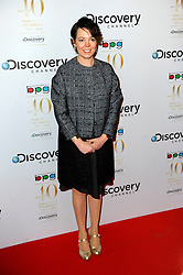 Olivia Coleman attends the Broadcasting Press Guild Awards sponsored by The Discovery Channel at Theatre Royal, London, United Kingdom. Friday, 28th March 2014. Picture by Chris Joseph / i-Images