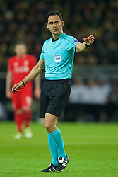 DORTMUND, GERMANY - Thursday, April 7, 2016: Referee Carlos Velasco Carballo during the UEFA Europa League Quarter-Final 1st Leg match between Borussia Dortmund and Liverpool at Westfalenstadion. (Pic by David Rawcliffe/Propaganda)