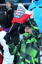 30.12.2011, DKB-Ski-ARENA, Oberhof, GER, Viessmann FIS Tour de Ski 2011, Pursuit/ Verfolgung Herren im Bild Zuschauer jubeln für den Sieger . // during of Viessmann FIS Tour de Ski 2011, in Oberhof, GERMANY, 2011/12/30 .. EXPA Pictures © 2011, PhotoCredit: EXPA/ nph/ Hessland..***** ATTENTION - OUT OF GER, CRO *****