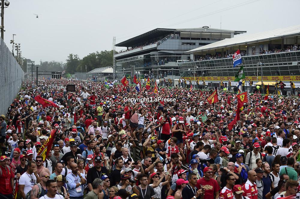 &copy; Photo4 / LaPresse<br /> 04/09/2016 Monza, Italy<br /> Sport <br /> Grand Prix Formula One Italia 2016<br /> In the pic: atmosphere; colore;