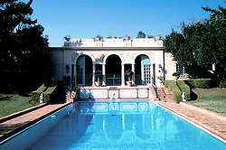California, Los Angeles: Virginia Robinson Gardens  in Beverly Hills..Photo: cabeve102..Photo copyright Lee Foster, 510/549-2202, lee@fostertravel.com, www.fostertravel.com..Photo #: cabeve102