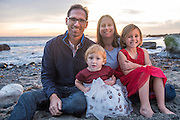 Moag family portraits at Dana Point.