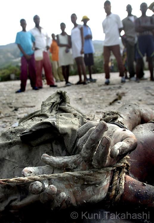 Port au Prince, Haiti. Feb 2004
