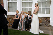 IRENA VIRGANSKAYA, ANASTASIA VIRGANSKAYA, ELENA PERIMNOVA AND  JULIA DYACHENKO. Raisa Gorbachev Foundation Party, at the Stud House, Hampton Court Palace on June 7, 2008 in Richmond upon Thames, London,Event hosted by Geordie Greig and is in aid of the Raisa Gorbachev Foundation - an international fund fighting child cancer.  7 June 2008.  *** Local Caption *** -DO NOT ARCHIVE-© Copyright Photograph by Dafydd Jones. 248 Clapham Rd. London SW9 0PZ. Tel 0207 820 0771. www.dafjones.com.