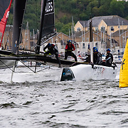 Team Wales - 2018 (GBR)<br /> Crewed by a mixture of Welsh and English sailing talent, Team Wales boasts an array of racing accolades, from Olympic campaigns to European and World Championships, with many of the team also having competed on the Extreme Sailing Series circuit in recent years.<br /> <br /> Catamaran specialist and Extreme Sailing Series pro Adam Piggott takes up post as skipper, with his sailing skills bolstered by his impressive crew. Headsail trimmer Alain Sign joins the squad from the British Sailing Team, having been part of Team GB at the 2016 Rio Olympics in the 49er class. Mainsail trimmer Martin Evans, from Swansea, comes from a single-handed background in the Laser class, with teammate Gareth Fowler, from Chepstow, having campaigned a number of performance keelboats and has previously raced on the Land Rover Extreme 40. On the bow is Peter McCoy, a Finn sailor and a physical powerhouse, providing the horsepower at the front of the GC32 speed machine.