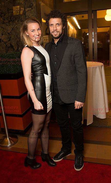 """OSLO,  20140225:  """"Det sterkeste kjønn"""" er programmet TV2 satser på denne våren.  Freddy Dos Santos og Anja Kathleen Vinje Gosling-Lewis.  FOTO: TOM HANSEN"""