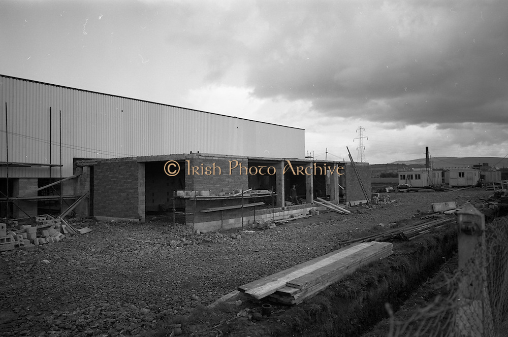 29/04/1964<br /> 04/29/1964<br /> 29 April 1964<br /> Progress pictures of Brittains factory on the Naas Road, Dublin.