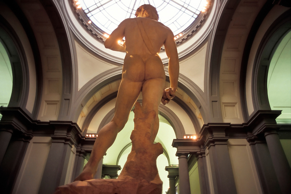 Michelangelo&acute;s David.<br />