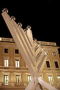 Italy, Milan, Hannukah Menorah