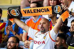 Valencia fans - Mandatory by-line: Robbie Stephenson/JMP - 01/08/2018 - FOOTBALL - King Power Stadium - Leicester, England - Leicester City v Valencia - Pre-season friendly