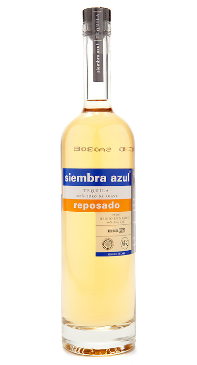 Siembra Azul Tequila Reposado -- Image originally appeared in the Tequila Matchmaker: http://tequilamatchmaker.com