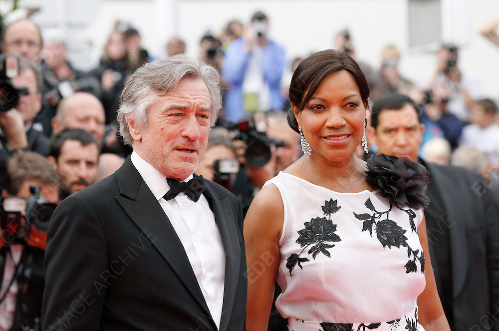 14.MAY.2011. CANNES<br /> <br /> ROBERT DE NIRO AND GRACE HIGHTOWER ON THE RED CARPET FOR THE PIRATES OF THE CARIBBEAN: ON THE STRANGER TIDES PREMIERE AT THE 64TH CANNES INTERNATIONAL FILM FESTIVAL 2011 IN CANNES, FRANCE<br /> <br /> BYLINE: EDBIMAGEARCHIVE.COM<br /> <br /> *THIS IMAGE IS STRICTLY FOR UK NEWSPAPERS AND MAGAZINES ONLY*<br /> *FOR WORLD WIDE SALES AND WEB USE PLEASE CONTACT EDBIMAGEARCHIVE - 0208 954 5968*