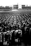 Nazi rally, Nuremberg, Germany, 1937.