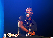 Black Coffee performs at SummerStage on Rumsey Playfield in Central Park in New York City, New York on June 15, 2014.