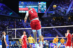 September 30, 2018 - Turin, Piedmont, Italy - Bartosz Kurek of Poland during the final match between Brazil and Poland for the FIVB Men's World Championship 2018 at Pala Alpitour in Turin, Italy, on 30 September 2018. Poland won 3: 0 and it is confirmed world champion. (Credit Image: © Massimiliano Ferraro/NurPhoto/ZUMA Press)
